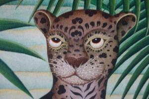 好奇心いっぱいの若い豹が瑞々しい。少年時代を彷彿とさせる。