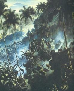 シュピース「朝日の中のイッサー」(1939)