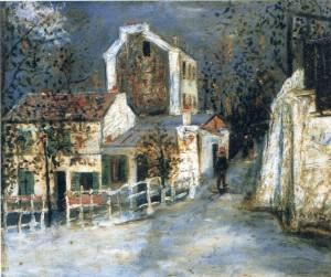 ユトリロ代表作「ラパン・アジル(1910)」