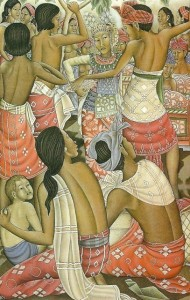 デワ・プトゥ・ベディル「ジョゲッド・ピンギタン・ダンス」(1975)