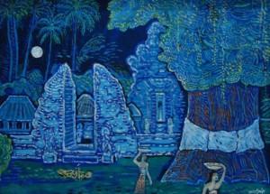 アリー・スミット「満月の儀式」ネカ美術館所蔵