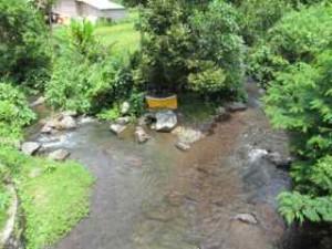 2つの川が合流するチャンプアン