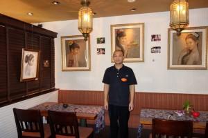 バリ絵画展『五感を満たす食卓』