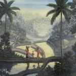 ガルー『椰子の実の収穫』