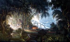9. kampung pohon bambu