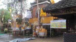 家寺改修の祭事