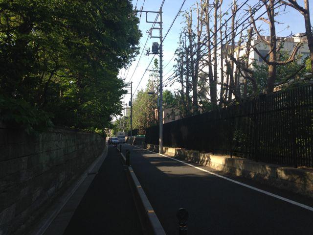 ブログ144_東大農学部横の路地