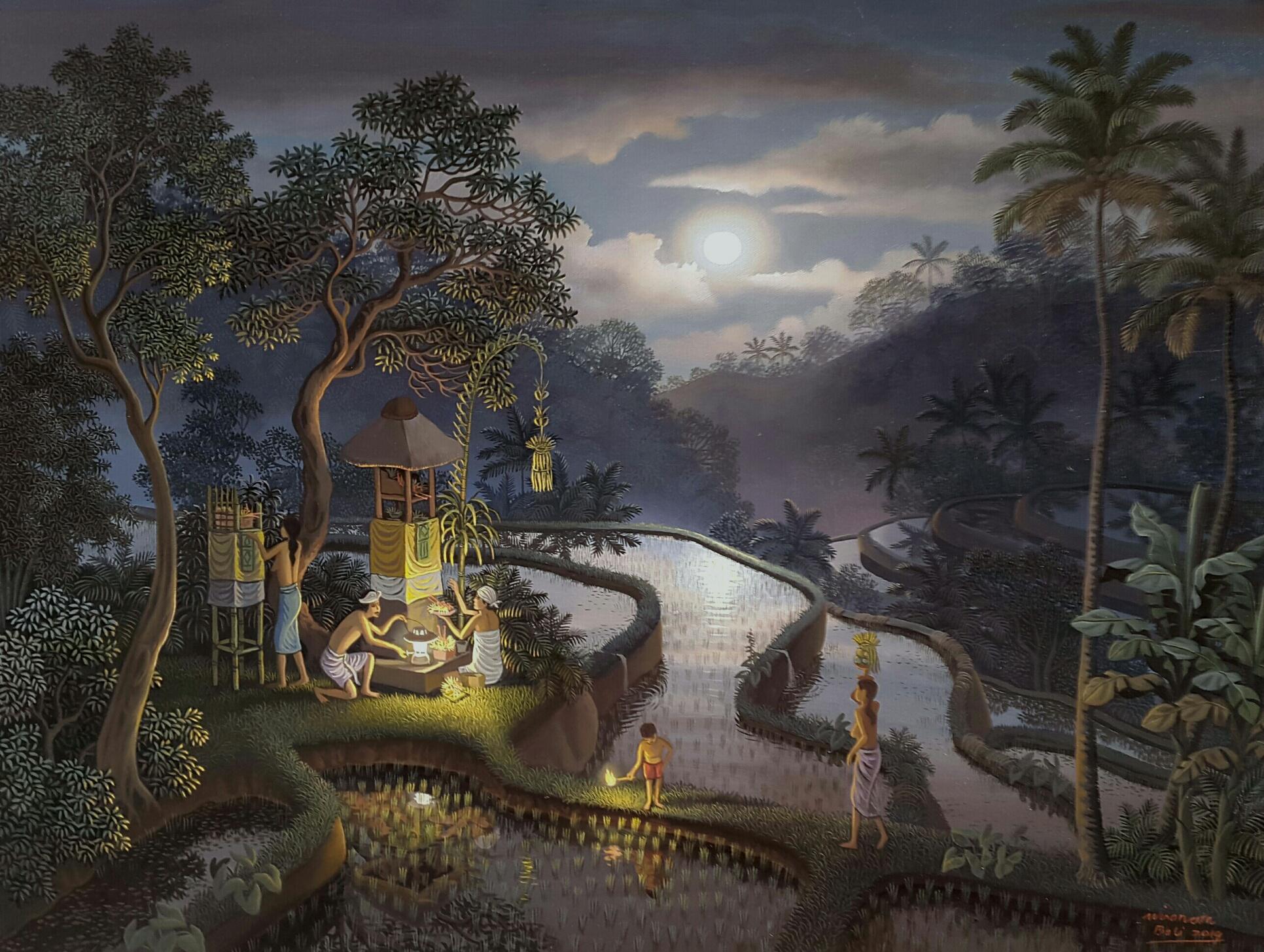 ウィラナタ『満月の夜に』