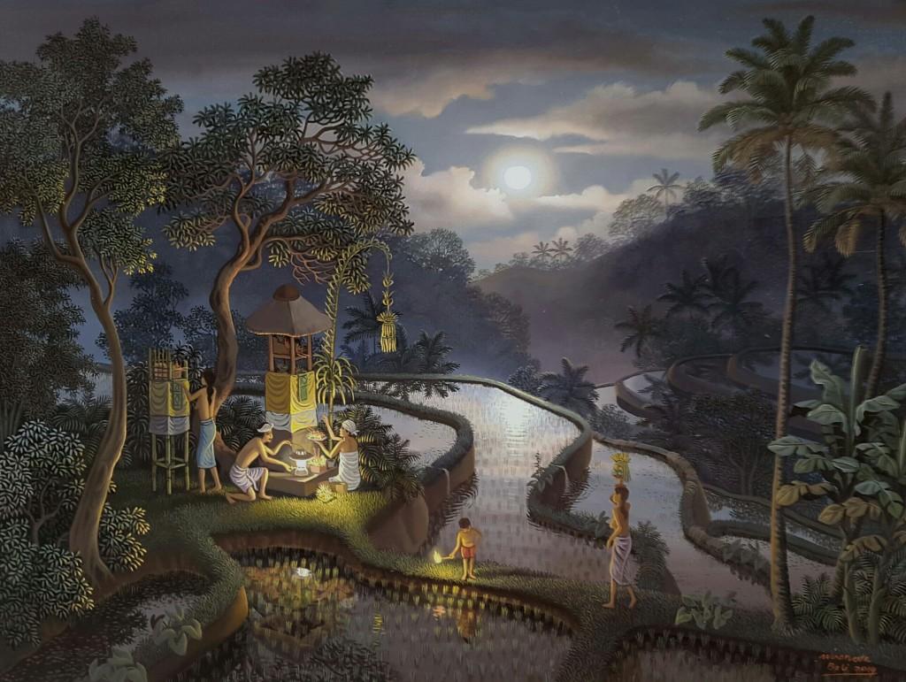 『満月の夜に 〜Fullmoon Galungan』 WIRANATA
