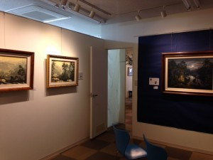 奥の展示室
