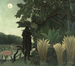 『蛇使いの女』アンリ・ルソー(1907)