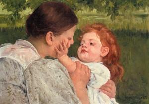 mother's caress