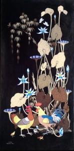 『夏の夜の夢 II』 GAMA 80x40cm